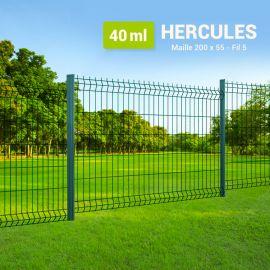 Kit Clôture Rigide à Sceller - Hercules - 40 ml