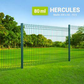 Kit Clôture Rigide à Sceller - Hercules - 80 ml