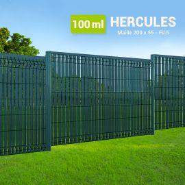 Kit Clôture Rigide avec Occultant - Hercules - 100 ml