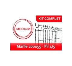 Kit Clôture Rigide - Médium
