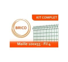 Kit Clôture Rigide - Brico